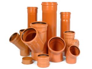 Систем наружной безнапорной канализации, водоотвода ПВХ (PVC)