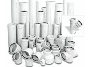 Трубы и фитинги для внутренней бесшумной канализации